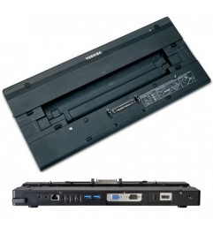 Docking Station Replicatore di Porte Highspeed Toshiba PA3916E-1PRP USB 3.0 TECRA NO Alimentatore