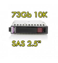 "Hard Disk per Server HP SAS 2.5 73Gb 10K Hot Swap per Proliant DL ML BL G5 G6 G7"""