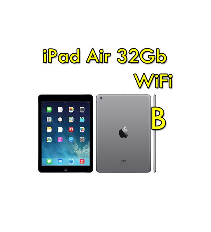 iPad Air 32Gb WiFi 9.7 Retina Bluetooth Webcam SpaceGray MD786TY [GRADE B]""