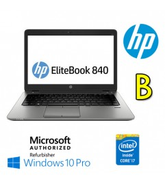 Notebook HP EliteBook 840 G1 Core i7-4600U 8Gb 180Gb SSD 14 LED Windows 10 Professional [GRADE B]""