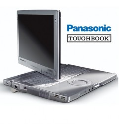 "Notebook Panasonic Toughbook CF-C1 Core i5-2520M 4Gb 500Gb 12.1 Touchscreen Windows 10 HOME"""