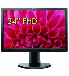 Monitor LCD 24 POllici Lenovo ThinkVision LT2452PWC Full HD 1920 x 1080 Black