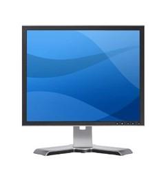 PC Monitor Dell LCD 19 Pollici 1908FP Flat Panel DVI PIVOT USB TCO03 4:3