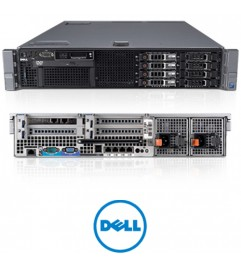 Server Rack DELL PowerEdge R710 (2) Xeon E5620 2.40 GHZ 32Gb Ram 600Gb 2.5 SAS (2) PSU""