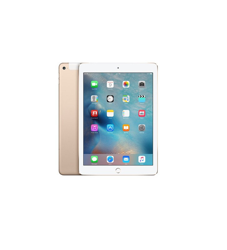 iPad Air 2 64Gb Gold WiFi Cellular 4G 9.7 Retina Bluetooth Webcam MH172TY/A""