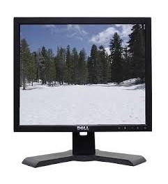 """Dell Ultrasharp 1708FPF Monitor LCD 17 4 USB 4:3 BLACK"""""""