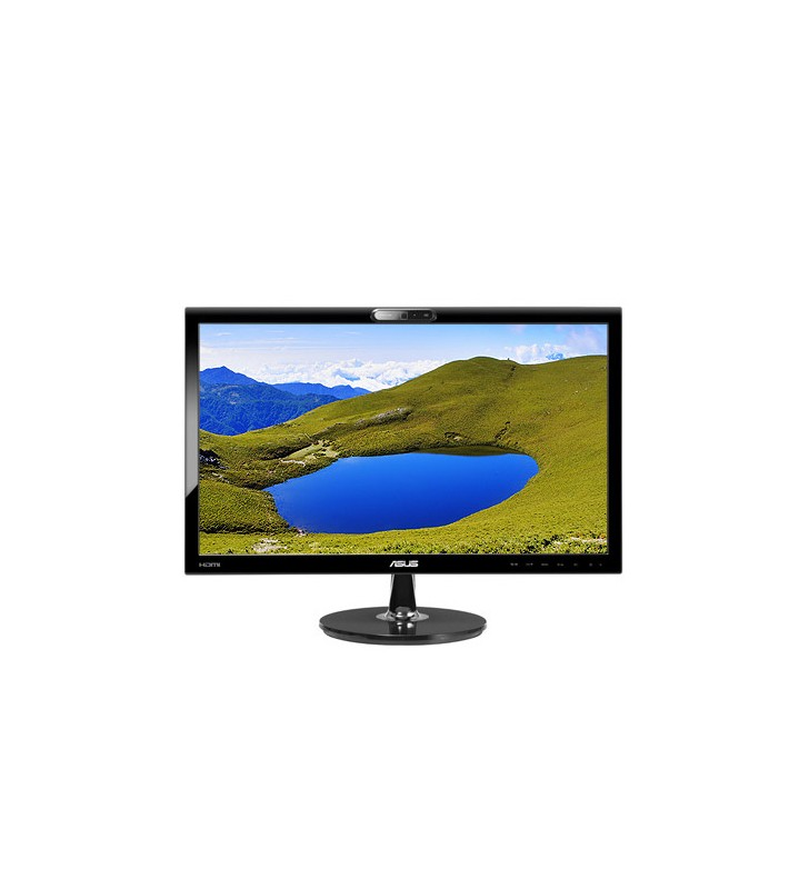 Monitor LCD 22 Pollici Asus VK228H Full HD LED 1920x1080 HDMI USB Webcam Black