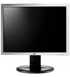 Monitor LCD LG Flatron E1910 19 Pollici VGA DVI AUDIO Black Silver 4:3
