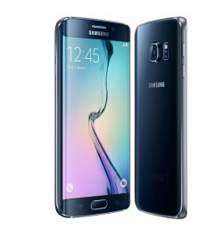 "Smartphone Samsung Galaxy S6 Edge SM-G925F 5.1 FHD 4G 32Gb 16MP Black sapphire [Grade B]"""