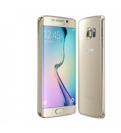 "Smartphone Samsung Galaxy S6 Edge SM-G925F 5.1 FHD 4G 32Gb 16MP Gold [Grade B]"""