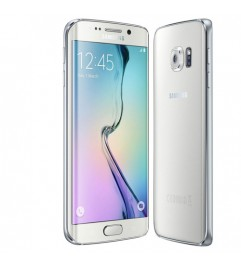 "Smartphone Samsung Galaxy S6 Edge SM-G925F 5.1 FHD 4G 64Gb 16MP White Pearl [Grade B]"""