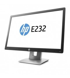 Monitor HP EliteDisplay E232 23 Pollici LED Full-HD IPS Black-Silver