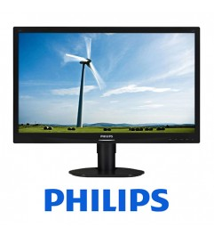 Monitor PC LCD Philips 241S4 24 Pollici 1920x1080 FHD Wide VGA DVI Black