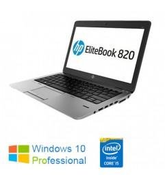 "Notebook HP EliteBook 820 G1 Core i7-4600U 8Gb 500Gb 12.5 HD AG LED Windows 10 Professional Leggero"""