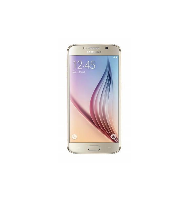 "Smartphone Samsung Galaxy S6 SM-G920F 5.1 FHD 4G 64Gb 16MP Gold [Grade B]"""