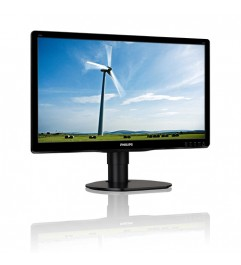 Monitor PC LCD Philips Brilliance 200S4 19.5 Pollici 1600x900 HD VGA DVI Black