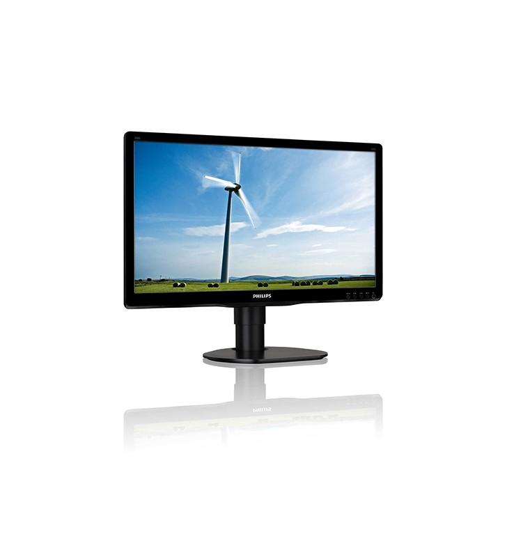 Monitor PC LCD Philips Brilliance 200S4 19.5 Pollici 1600x900 HD VGA DVI Black