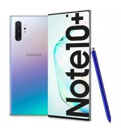 """Smartphone Samsung Galaxy Note 10+ SM-N975F 6.8 FHD 12Gb RAM 256Gb 16MP Silver [Grade B]"""""""