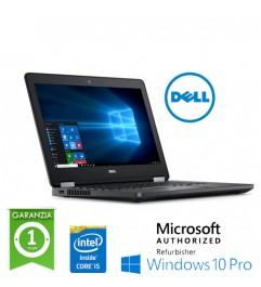 "Notebook Dell Latitude E5270 Core i5-6300U 2.4GHz 8Gb 256b SSD 12.5 LED WEBCAM Windows 10 Professional"""