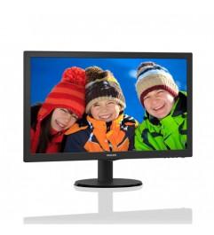 Monitor PC LCD 22 Pollici Philips 220S4L Wide VGA DVI BLACK