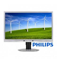 Monitor Philips Brilliance 241B4L 24 Pollici Full HD LED 1920 x 1080 Silver-Black