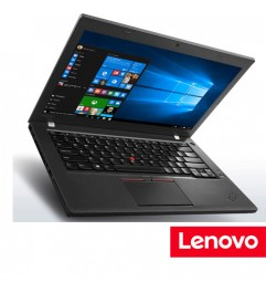 "Notebook Lenovo Thinkpad T460 Core i5-6200U 8Gb 256Gb SSD 14 Windows 10 Professional"""