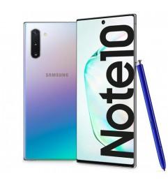 """Smartphone Samsung Galaxy Note 10 SM-N970F 6.3 FHD 8Gb RAM 256Gb 12MP Silver [Grade B]"""""""